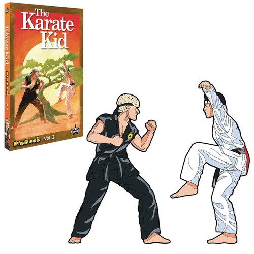 Karate Kid 3-Inch Book & Pin Set