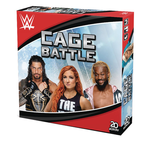 WWE Wrestling WWE Cage Battle Board Game