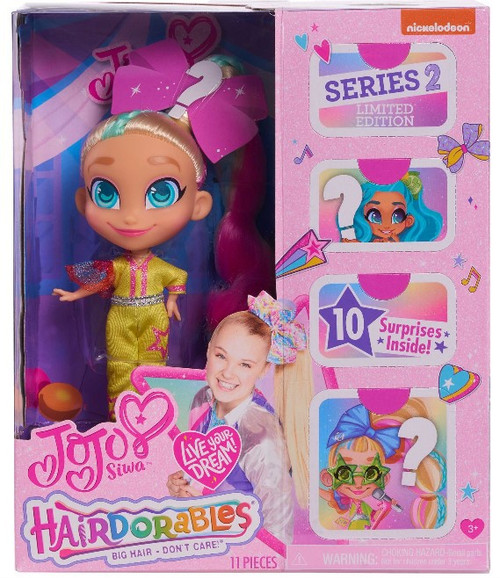 Hairdorables Series 2 JoJo Siwa Doll [Limited Edition, Version 2]