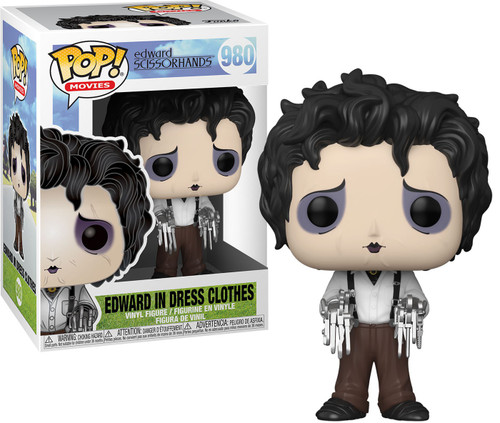 Funko Edward Scissorhands POP! Movies Edward in Dress Clothes Vinyl Figure