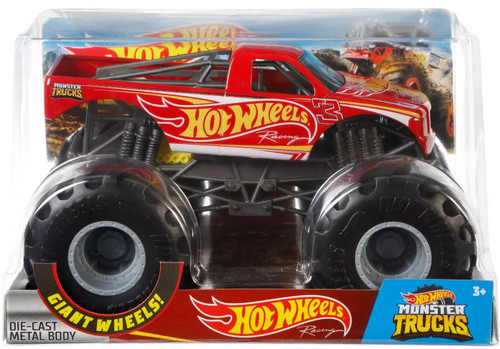 Monster Trucks Hot Wheels Racing Diecast Car