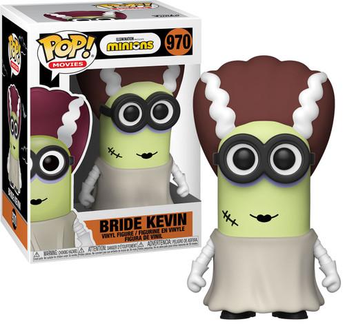 Funko Minions Halloween POP! Movies Bride Kevin Vinyl Figure