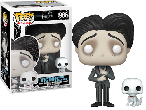 Funko Corpse Bride POP! Movies Victor with Scraps Vinyl Figure #986