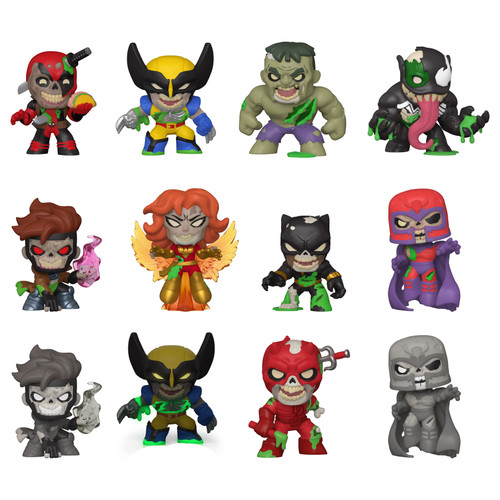 Funko Mystery Minis Marvel Zombies Exclusive Mystery Box [12 Packs, Specialty Series]