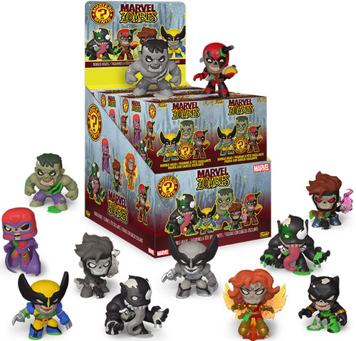 Funko Mystery Minis Marvel Zombies Mystery Box [12 Packs, Regular Series]