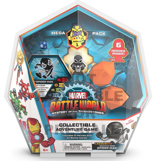 Funko Marvel Battleworld Mystery of the Thanostones Mega Pack Collectible Adventure Game Mystery Pack