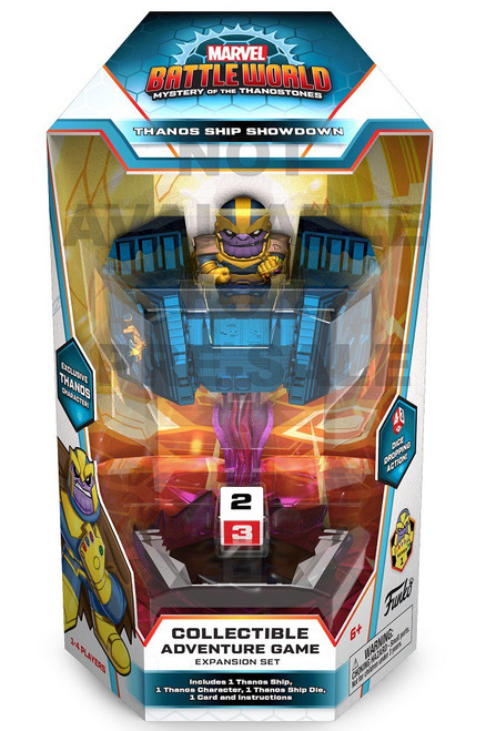 Funko Marvel Battleworld Mystery of the Thanostones Thanos Ship Showdown Collectible Adventure Game Expansion Set (Pre-Order ships January)