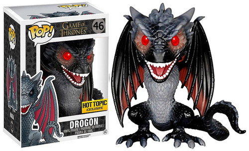 Funko Game of Thrones POP! TV Drogon Exclusive 6-Inch Vinyl Figure #46 [Super-Sized, Damaged Package]