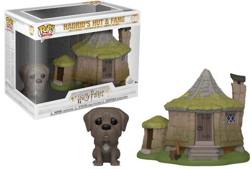 Funko Harry Potter POP! Town Hagrid's Hut with Fang Vinyl Figure Set [Damaged Package]