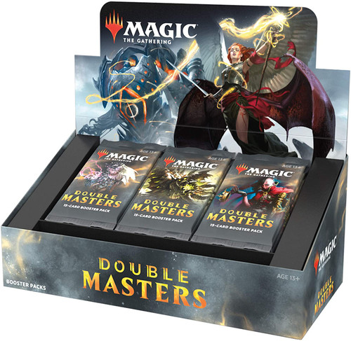 MtG Trading Card Game Double Masters Booster Box [24 Packs]