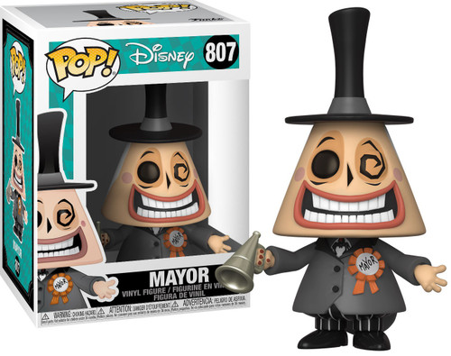 Funko Nightmare Before Christmas POP! Disney Mayor Vinyl Figure #807 [Regular Version, Megaphone]