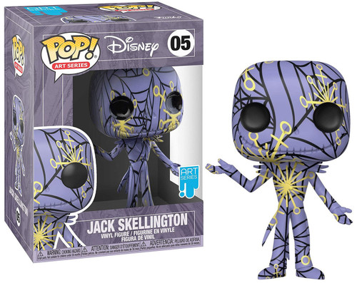 Funko Nightmare Before Christmas POP! Disney Jack Skellington Vinyl Figure [Artist's Series]