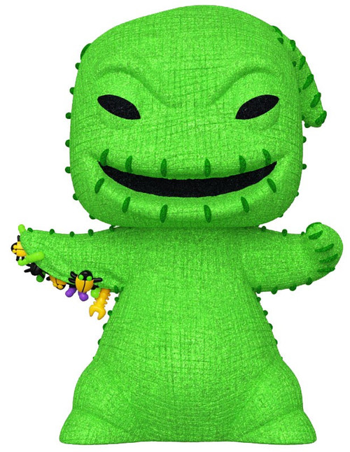 Funko Nightmare Before Christmas POP! Disney Oogie Boogie Exclusive Vinyl Figure [Diamond Collection]