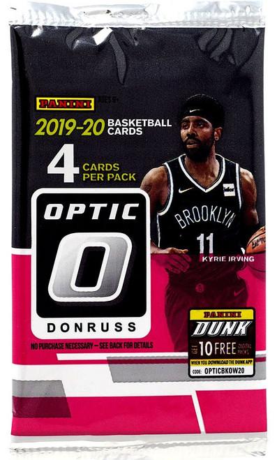 NBA Panini 2019-20 Donruss Optic Basketball Trading Card RETAIL Pack [4 Cards]