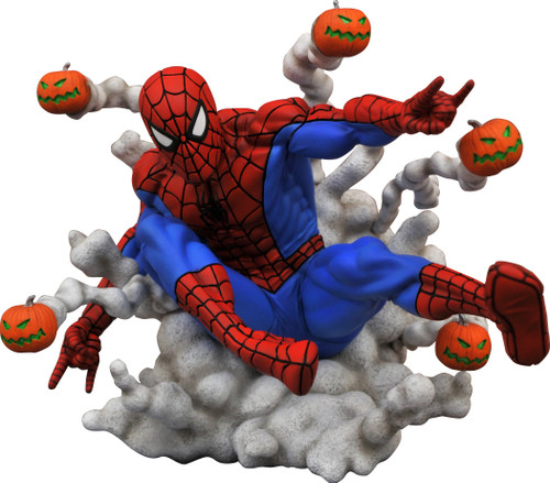Marvel Gallery Spider-Man 6-Inch PVC Statue [Pumpkin Bombs]