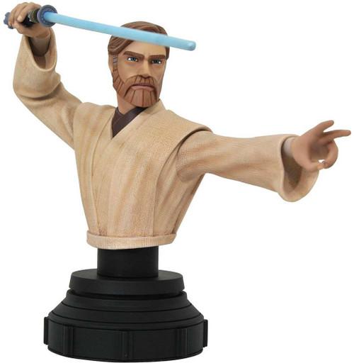 Star Wars The Clone Wars Obi-Wan Kenobi 6-Inch Bust