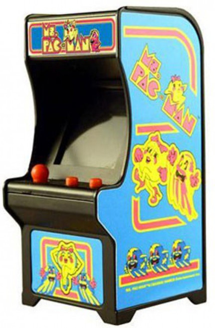 Tiny Arcade Ms. Pac-Man 4-Inch Micro Video Game Cabinet