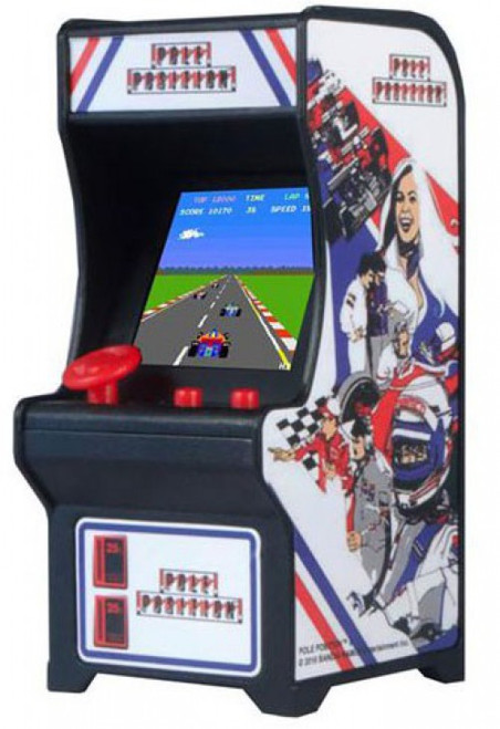 Tiny Arcade Pole Position 4-Inch Micro Video Game Cabinet