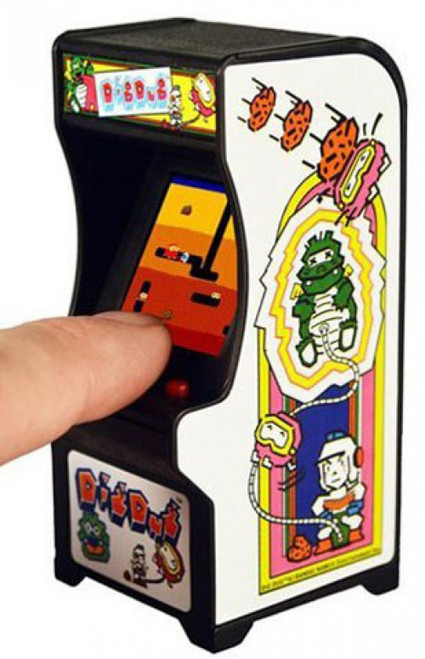 Tiny Arcade Dig Dug 4-Inch Micro Video Game Cabinet (Pre-Order ships May)