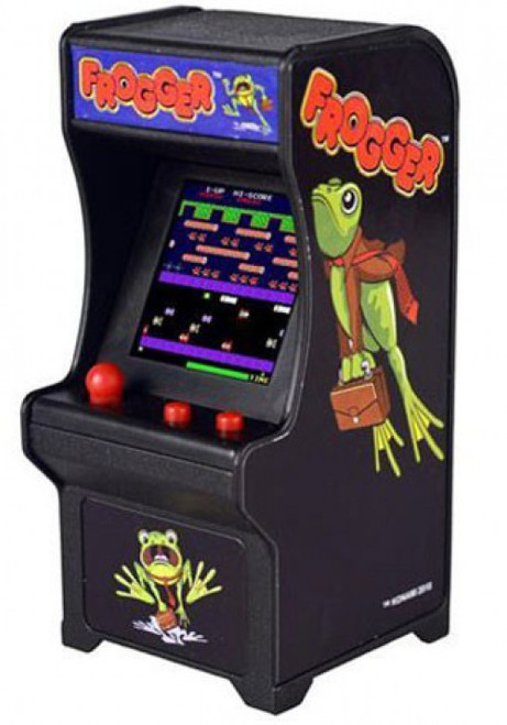 Tiny Arcade Frogger 4-Inch Micro Video Game Cabinet