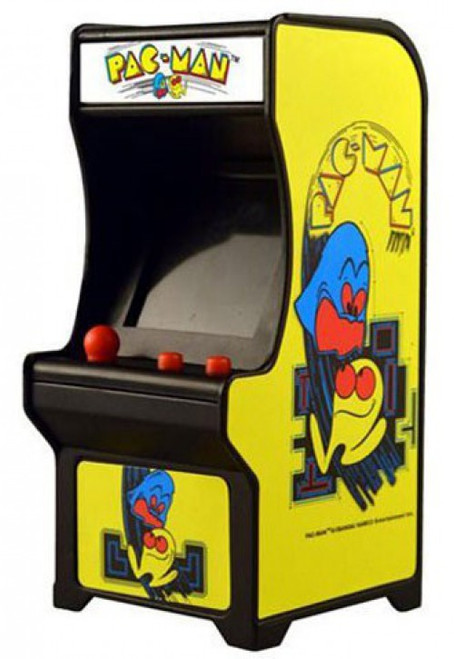Tiny Arcade Pac-Man 4-Inch Micro Video Game Cabinet