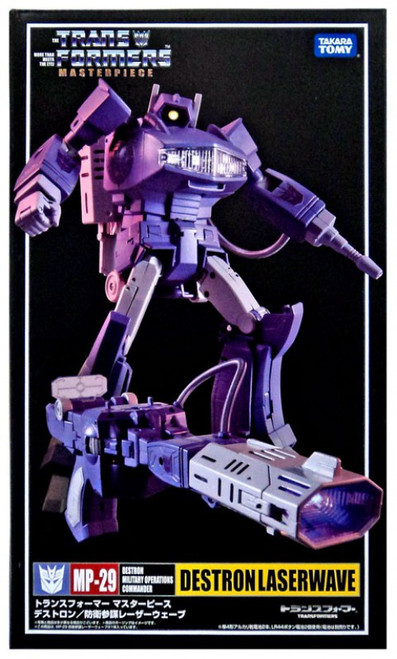 Transformers Japanese Masterpiece Collection Destron Laserwave Action Figure MP-29 [Damaged Package]