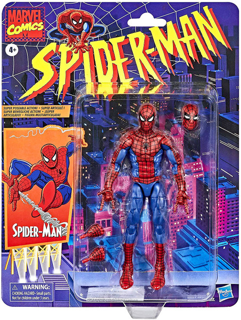 Marvel Legends Vintage (Retro) Series Spider-Man Action Figure
