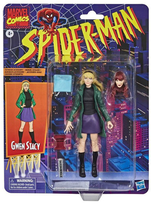 Spider-Man Marvel Legends Vintage (Retro) Series Gwen Stacey Action Figure