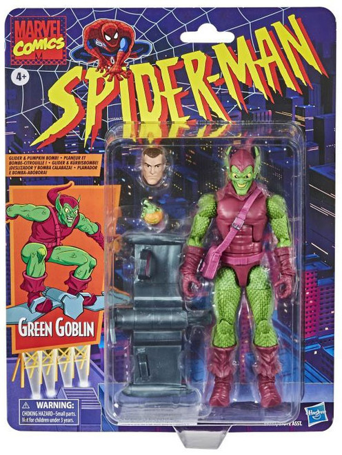 Spider-Man Marvel Legends Vintage (Retro) Series Green Goblin Action Figure