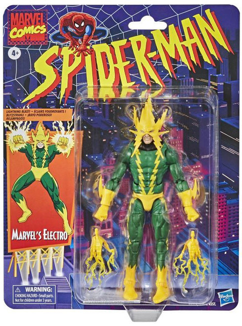 Spider-Man Marvel Legends Vintage (Retro) Series Electro Action Figure