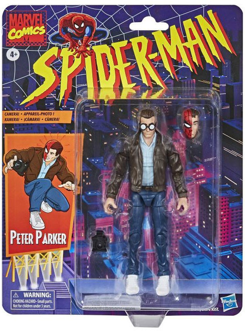 Spider-Man Marvel Legends Vintage (Retro) Series Peter Parker Action Figure