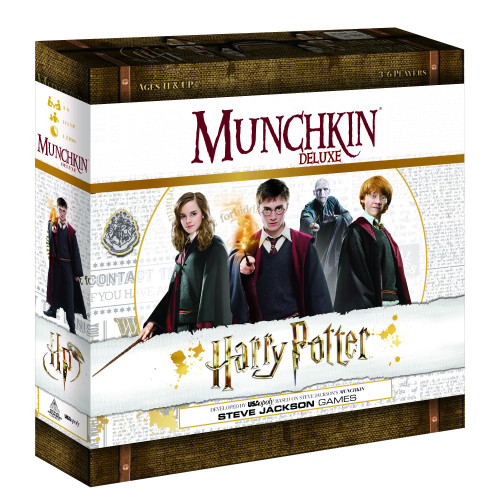 Munchkin Deluxe Harry Potter Card Game