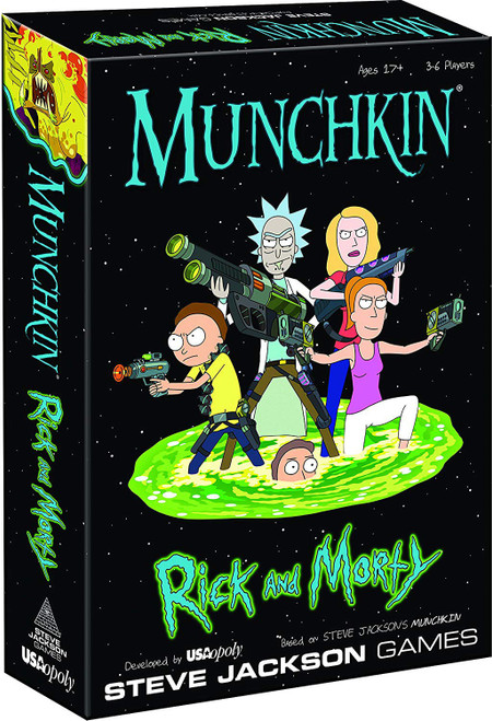 Munchkin Rick & Morty Card Game