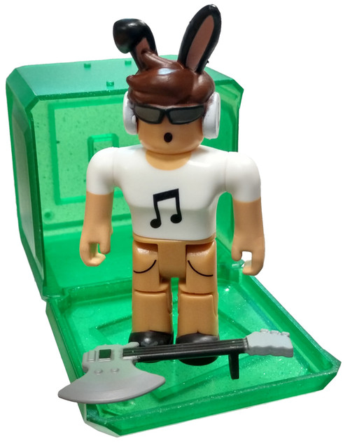 Roblox Celebrity Collection Series 4 nojustEthan 3-Inch Mini Figure [with Green Cube and Online Code Loose]