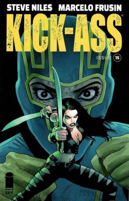Image Comics Kick-Ass, Vol. 4 #15A Comic Book