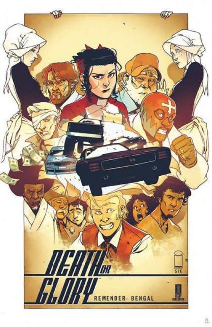 Image Comics Death or Glory #6A Comic Book