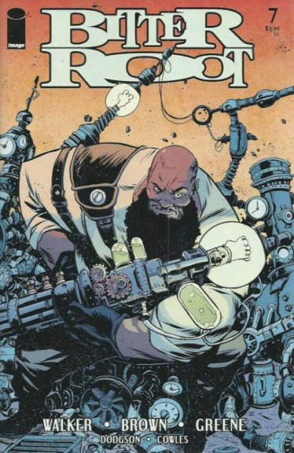 Image Comics Bitter Root #7A Comic Book