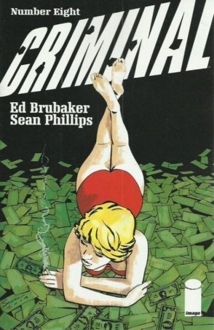 Criminal (Image Comics) #8 Comic Book