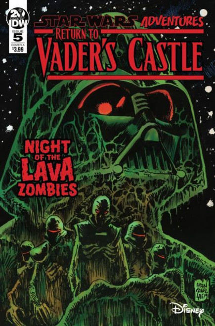 IDW Publishing Star Wars Adventures: Return To Vader's Castle #5A Comic Book