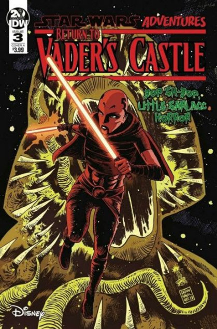 IDW Publishing Star Wars Adventures: Return To Vader's Castle #3A Comic Book