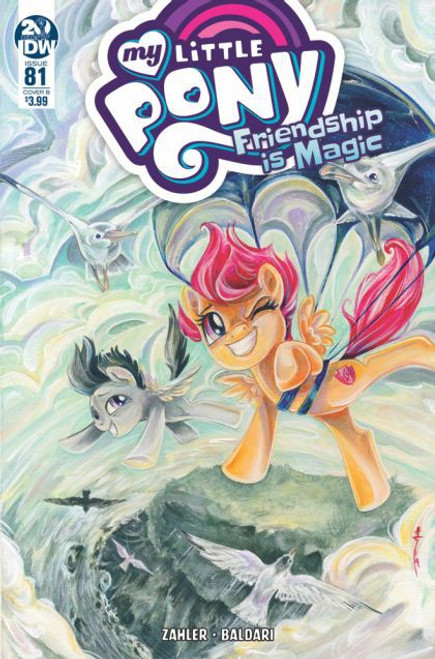 IDW Publishing My Little Pony: Friendship Is Magic #81B Comic Book
