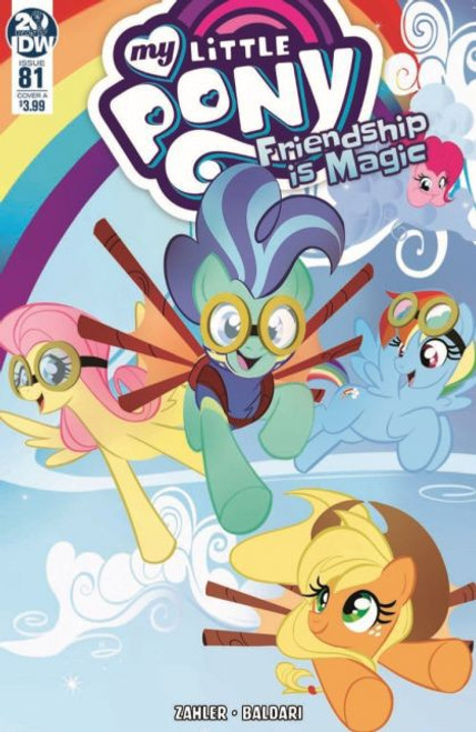 IDW Publishing My Little Pony: Friendship Is Magic #81A Comic Book