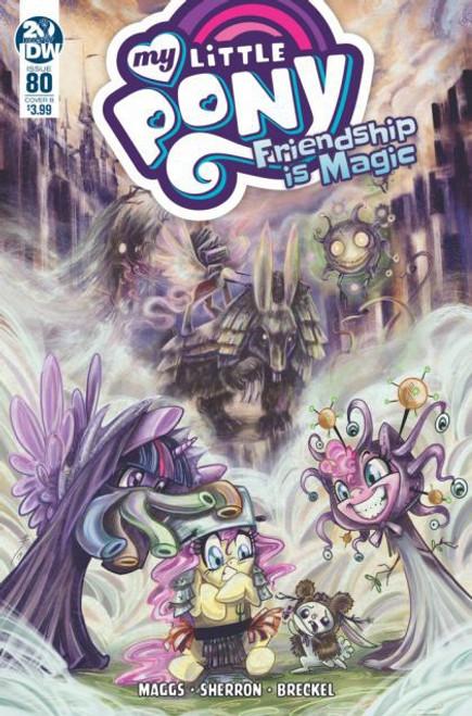 IDW Publishing My Little Pony: Friendship Is Magic #80B Comic Book