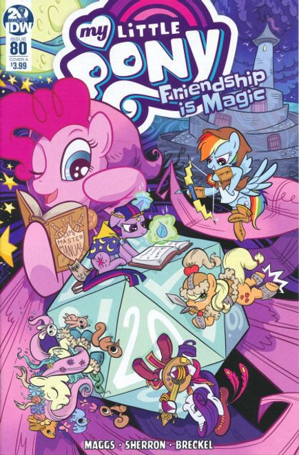 IDW Publishing My Little Pony: Friendship Is Magic #80A Comic Book