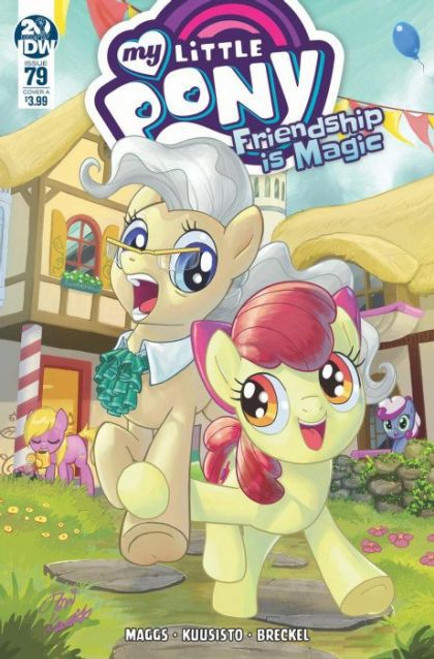 IDW Publishing My Little Pony: Friendship Is Magic #79A Comic Book