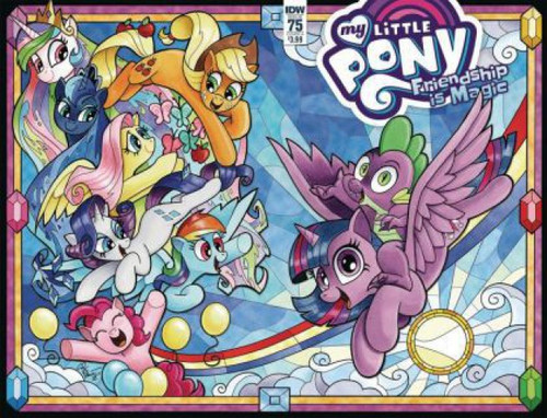 IDW Publishing My Little Pony: Friendship Is Magic #75A Comic Book