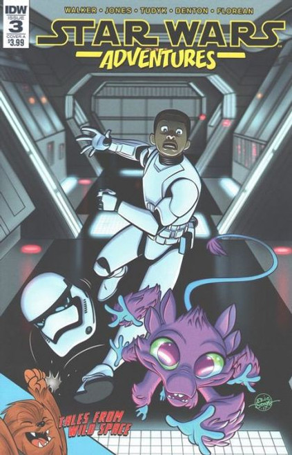 IDW Publishing Star Wars Adventures #3A Comic Book