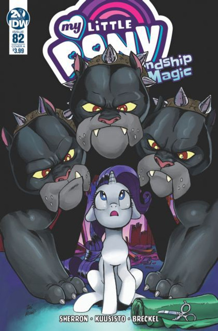 IDW Publishing My Little Pony: Friendship Is Magic #82A Comic Book