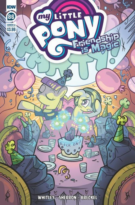 IDW Publishing My Little Pony: Friendship Is Magic #86A Comic Book
