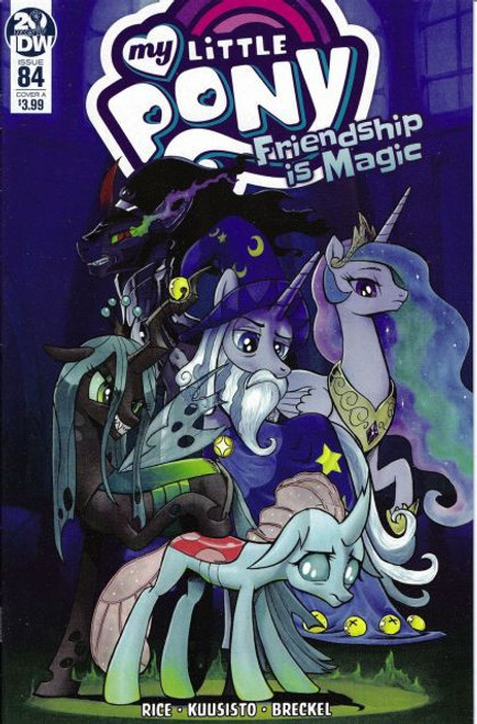 IDW Publishing My Little Pony: Friendship Is Magic #84A Comic Book